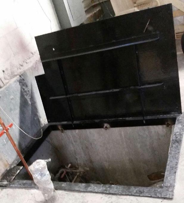 Steel cellar door New York & Cellar Door Manhattan New York