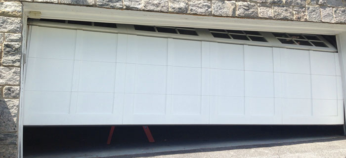 How to repair garage door
