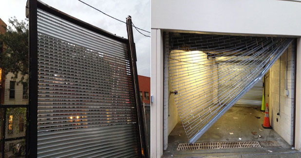Overhead garage door or rolling gate see through roll up gates solutioingenieria Images